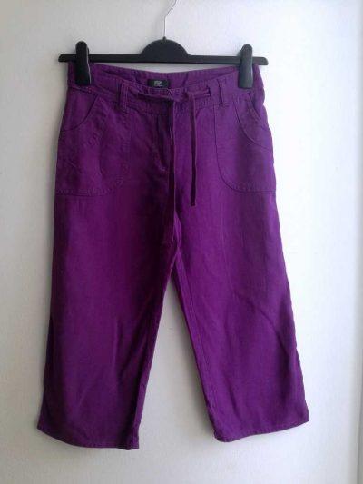 F&F lan viskoza bermuda hlače vel. 34/36