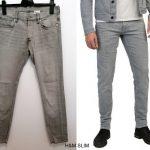 H&M Denim slim low waist traperice vel. S/M - 31/32
